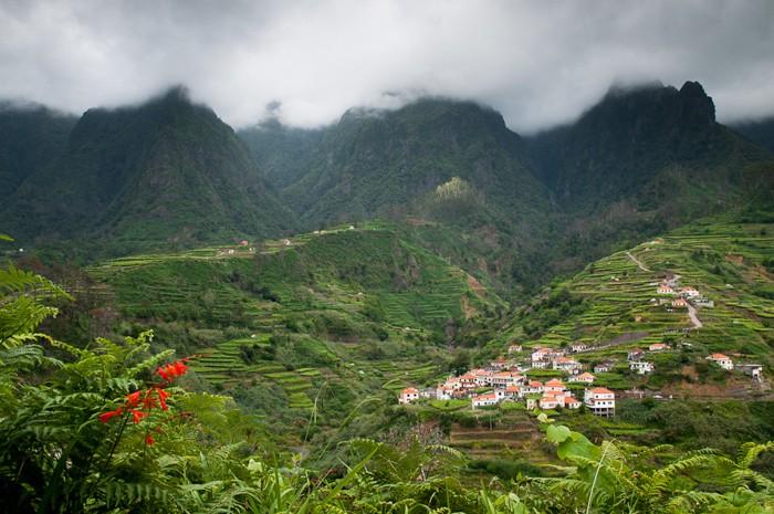 Landschapsfotografie: dreigende lucht in Madeira