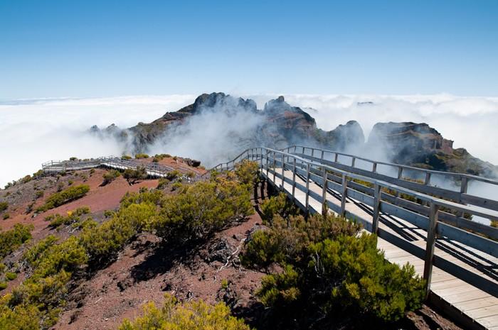 Prachtige wolken in Madeira