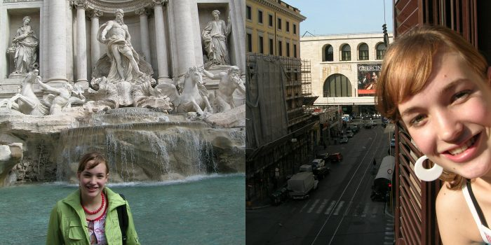 Laura in Rome, 2004