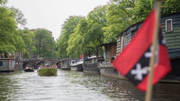 Rondvaart in Amsterdam