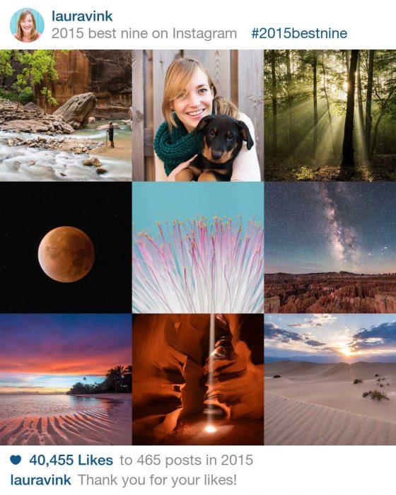 Mijn 9 foto's met de meeste likes in 2015 #2015bestnine