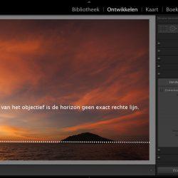 Lightroom lenscorrecties: vervorming en vignettering verwijderen