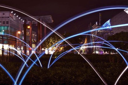Lightpainting is het tekenen met licht