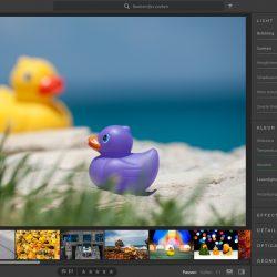 Het bewerken van de foto ziet er ook iets anders uit in Lightroom CC 1.0
