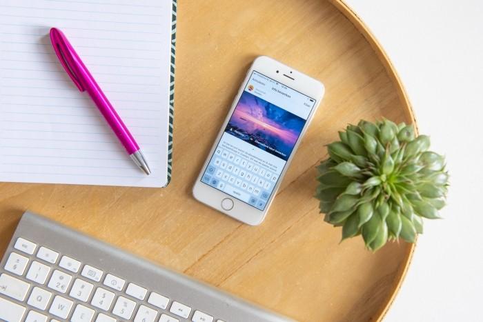 Sneller teksten typen voor Instagram