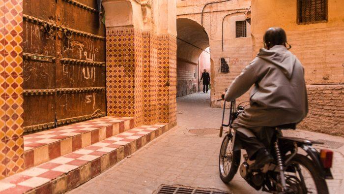 De toffe straatjes van Marrakesh