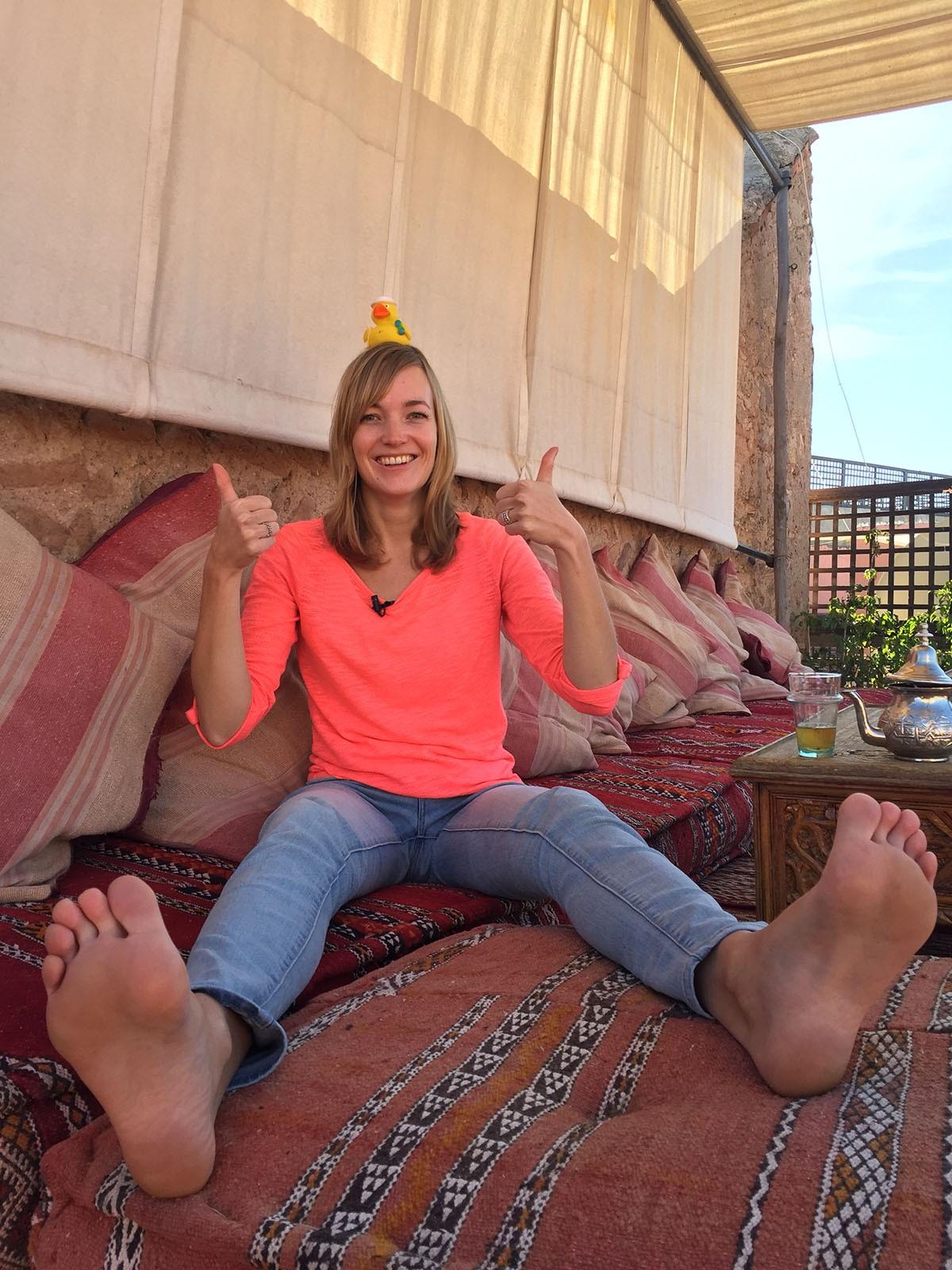 In Marrakesh