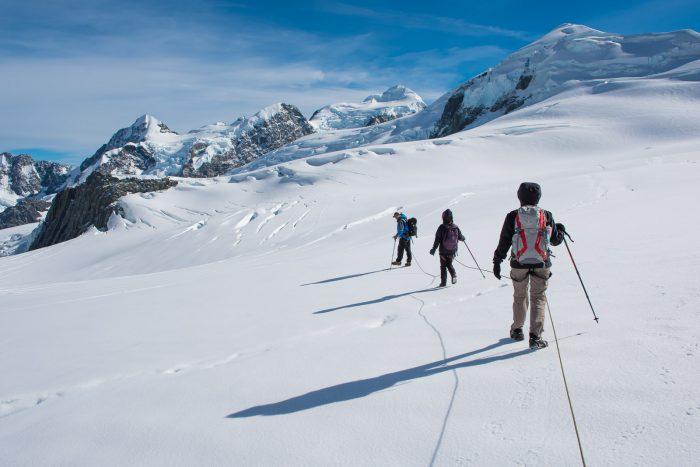 Hike over de Tasman gletsjer. Zoooo gaaf!