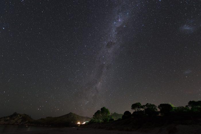 Dehaze voor betere sterrenfoto's en de melkweg