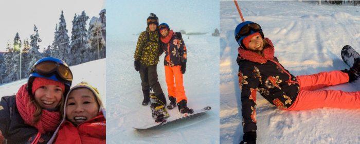 Lekker snowboarden