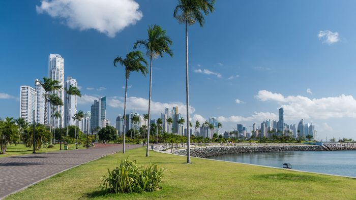 Skyline van Panama City
