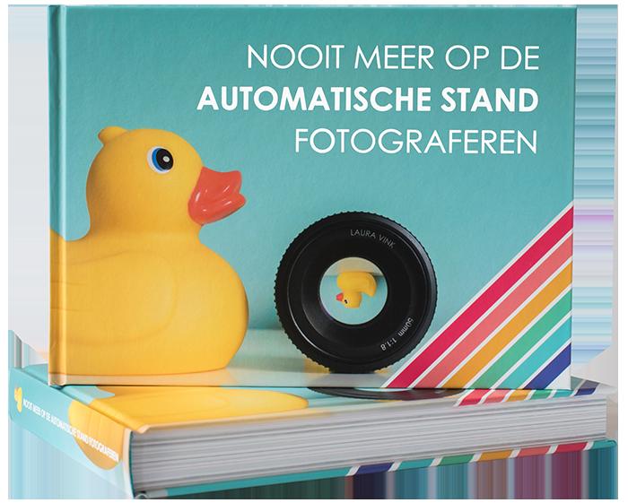 Boek Nooit Meer Op De Automatische Stand Fotograferen