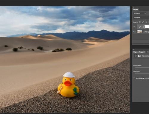Photoshop Maskers: bewerkingen toepassen op een specifiek deel van de foto