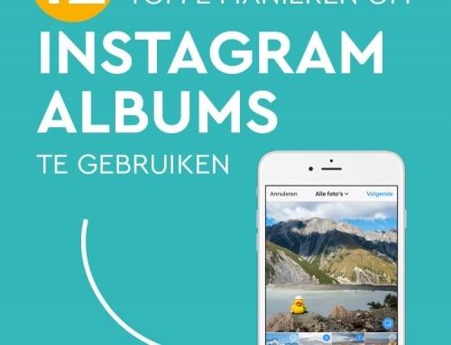 Hoe je meerdere foto's in één Instagram album zet + 12 toffe manieren om dit te gebruiken