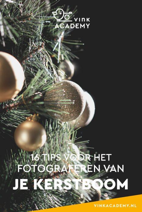 Tips voor het fotografen van een kerstboom