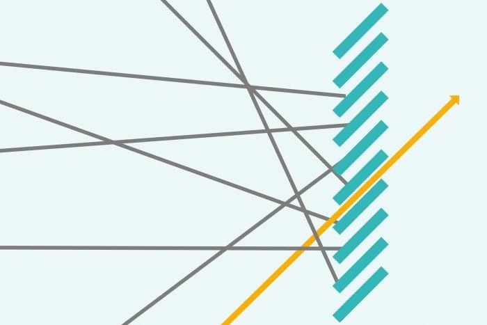 Voorbeeld polarisatiefilter