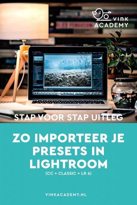 Lightroom presets importeren