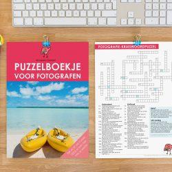 Download het gratis puzzelboekje voor fotografen