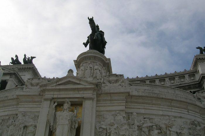 Standbeeld ruiter