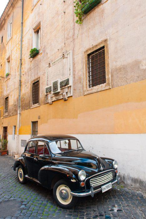 Leuke auto in Rome, 2013