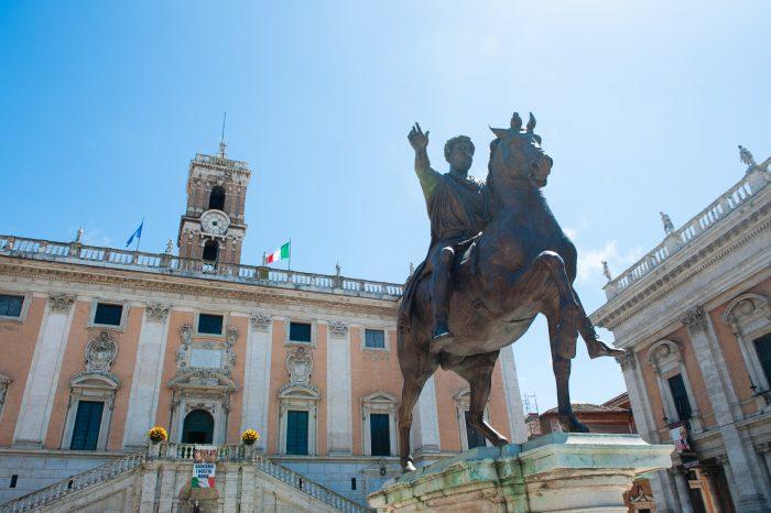 Ruiterstandbeeld Marcus Aurelius, 2013