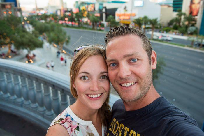 Samen met Rabin in Las Vegas