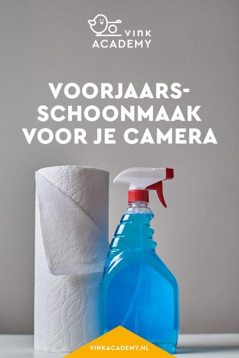Camera schoonmaken: dit moet je doen