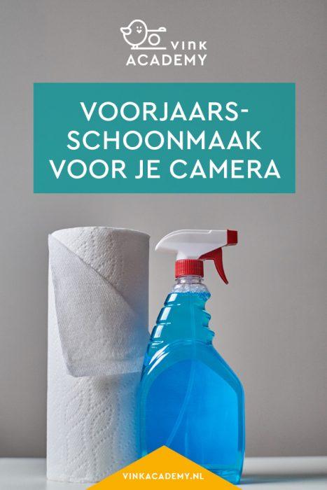 Zo houd je een voorjaarsschoonmaak voor je camera