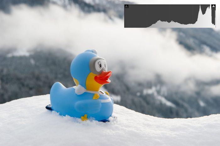 Belichting bij fotograferen in de sneeuw