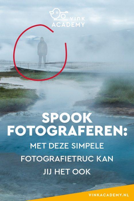 Met een simpele fotorafietruc verander je een persoon in een geest/spook op de foto