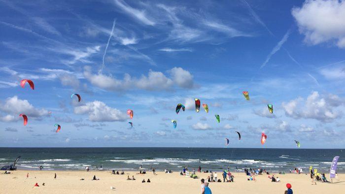 Op het strand van Texel