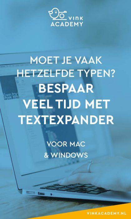 Sneller mailtjes beantwoorden zonder sneller te typen met TextExpander