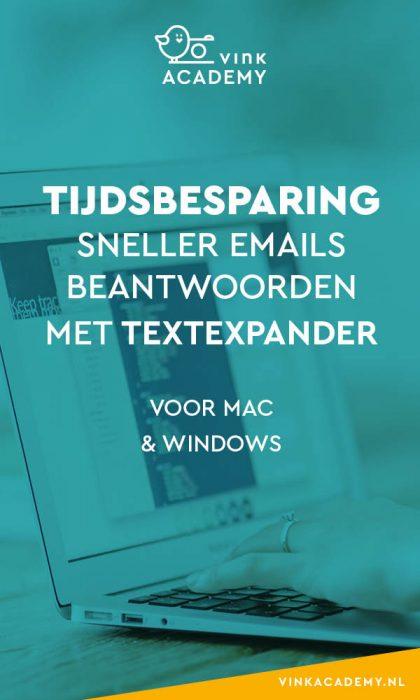 Bespaar tijd met TextExpander - Windows en Apple