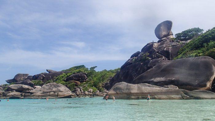 Similan eilanden, Thailand