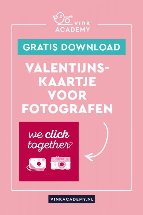 valentijnskaartje voor fotografen