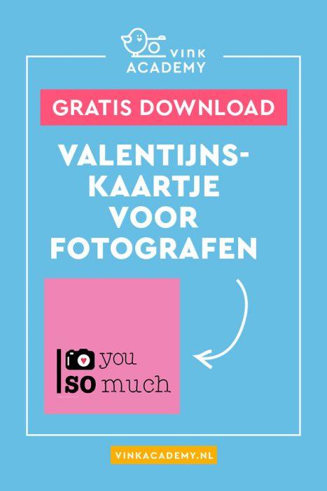 Download het gratis valentijnskaartje voor fotografen