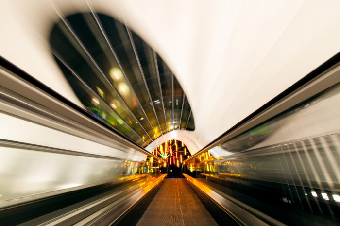 Het verhaal achter de foto Travelling Time.