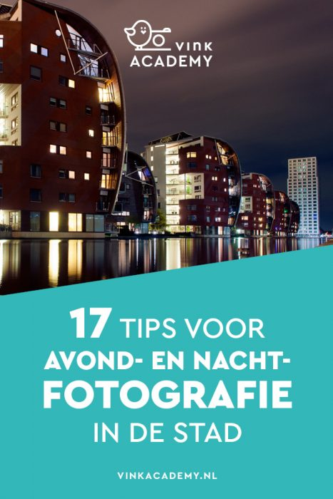 Avondfotografie in de stad