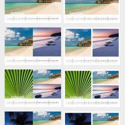 Voorbeeld kalenders template A