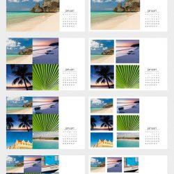 Voorbeeld kalenders template C