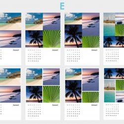 Voorbeeld kalenders template E