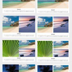 Voorbeeld kalenders template B
