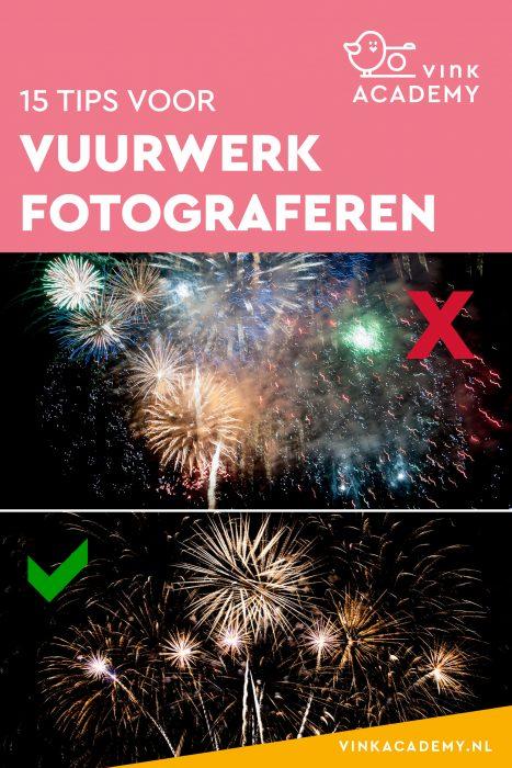 Vuurwerk fotograferen; zo moet het niet en wel