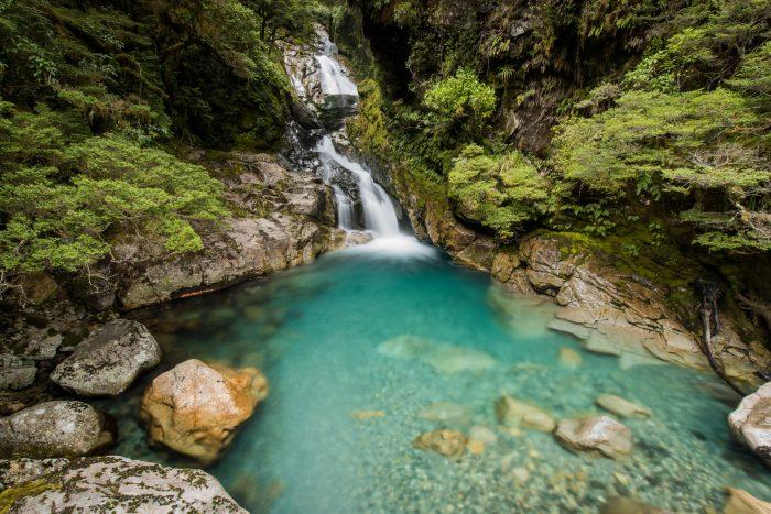 Watervallen doen het vaak erg goed met bewegingsonscherpte