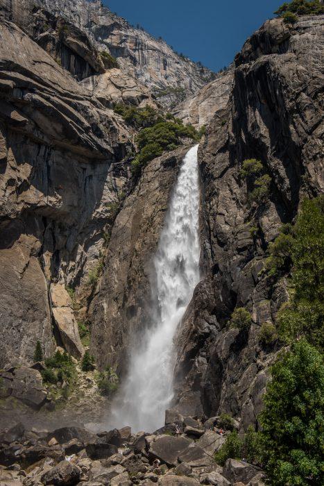 Yosemite waterval fotograferen