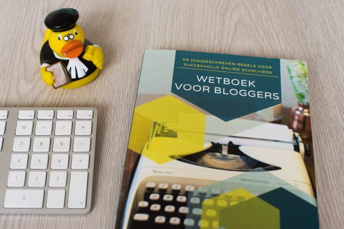 Wetboek voor Bloggers van Charlotte Meindersme