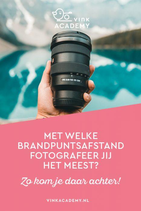 Met welke camera en lens fotografeer jij het meest? Je ontdekt het met Lightroom.