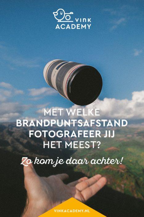 Met welke brandpuntsafstand fotografeer jij het meest?
