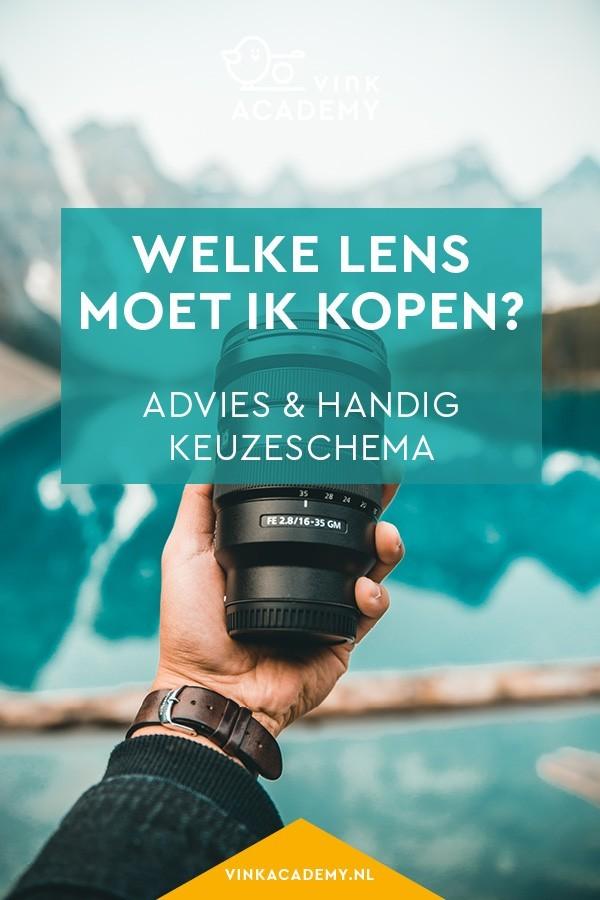 Twijfel jij over welke lens je moet kopen? In dit artikel advies en een handig keuzeschema