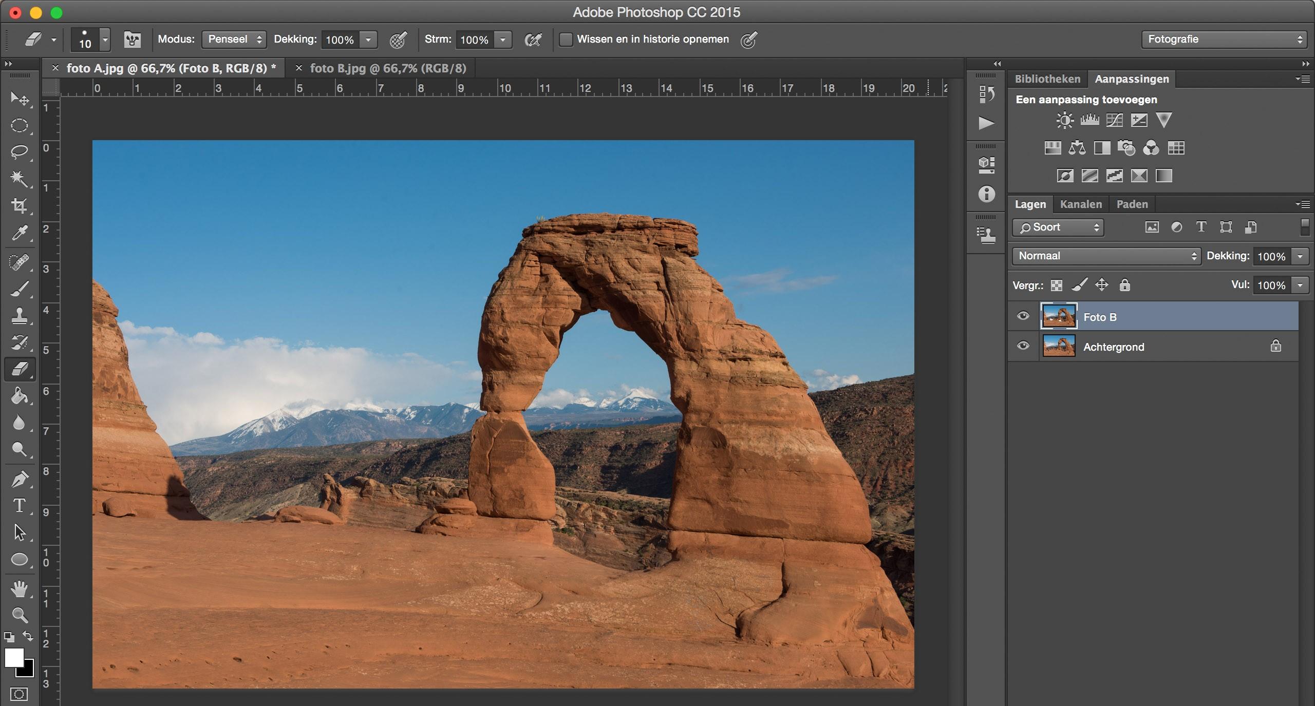 Werken Met Lagen In Photoshop En Zo Toeristen Weggumt